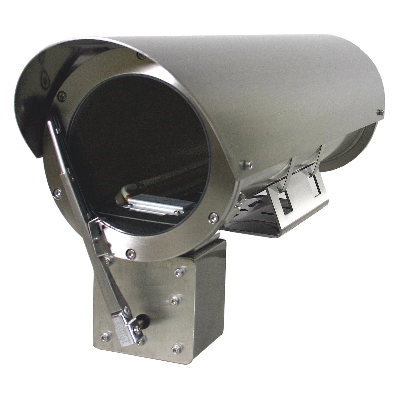 PH-860 Pressurized camera housing for nitrogen made of