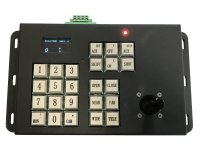 Pelco D keyboard with joystick and angle readout
